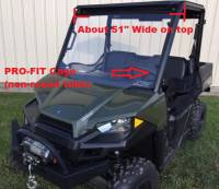 2015-18  Mid-Size Polaris Ranger Aluminum Top (fits stock PRO-FIT Cage)