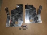 Polaris - GENERAL™ 1000 EPS - Extreme Metal Products, LLC - Polaris General Diamond Plate Floorboard set