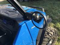 Extreme Metal Products, LLC - Polaris General Smack Back Mirrors for PRO-FIT Cages  Set (pick your mirror size)                         (Polaris General Mirrors)