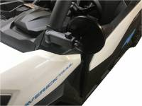 "Extreme Metal Products, LLC - Can-Am Maverick Trail Smack Back Mirror Set (5-1/2"" Round Mirrors)"