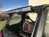 "Polaris - RANGER®  - Full Size - Extreme Metal Products, LLC - Polaris Ranger 50"" LED Light Brackets for the PRO-FIT Cage."