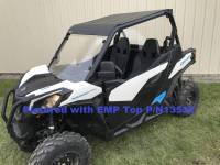 Extreme Metal Products, LLC - Maverick Trail and Sport Hard Coated Polycarbonte Windshield - Image 4