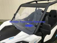 Extreme Metal Products, LLC - Maverick Trail and Sport Hard Coated Polycarbonte Windshield - Image 7