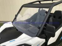 Extreme Metal Products, LLC - Maverick Trail and Sport Hard Coated Polycarbonte Windshield - Image 8