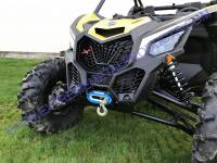 Extreme Metal Products, LLC - Can-Am Maverick X3 Winch Mount Bulkhead