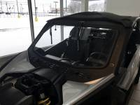 Can-Am - Maverick X3 - Extreme Metal Products, LLC - Can-Am Maverick X3 Laminated Glass Windshield with Slide Vent