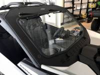 Can-Am Maverick X3 Laminated Glass Windshield with Slide Vent