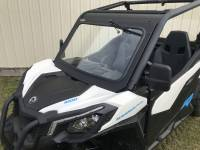 Can-Am - Maverick Trail  - Extreme Metal Products, LLC - Can-Am Maverick Trail Laminated Glass Windshield