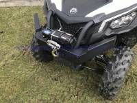 Extreme Metal Products, LLC - Can-Am Maverick Trail Front Brush Guard/Winch Mount - Image 7
