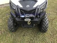 Extreme Metal Products, LLC - Can-Am Maverick Trail Front Brush Guard/Winch Mount - Image 10