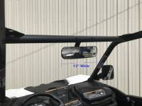 Can-Am - Maverick Trail  - Extreme Metal Products, LLC - Can-Am Maverick Trail Panoramic Rear View Mirror