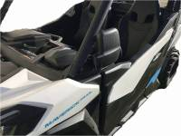 Extreme Metal Products, LLC - Can-Am Maverick Trail/Sport Folding Side Mirrors - Image 2