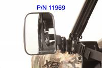 Extreme Metal Products, LLC - Polaris Ranger Folding Mirror set for the PRO-FIT Cage (non-round cage) - Image 9