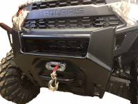 Extreme Metal Products, LLC - Polaris Ranger XP1000 Winch Mounting Plate - Image 1