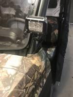 Ranger XP1000 LED Cube Light Bracket Set