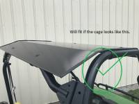Extreme Metal Products, LLC - John Deere Gator 625i and 825i Aluminum Top/Roof - Image 10