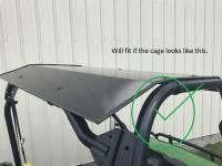 John Deere Gator 625i and 825i Aluminum Top/Roof