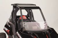 UTV Parts & Accessories - Extreme Metal Products, LLC - Polaris RS1 Half Windshield/Wind Deflector (Hard Coated on both sides)