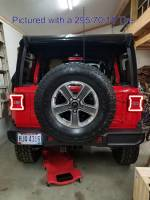Extreme Metal Products, LLC - Jeep JL Tire Relocation Bracket - Image 5