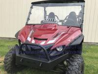 Extreme Metal Products, LLC - Yamaha Wolverine X2 Hardcoated Polycarbonate Windshield with Vent - Image 2