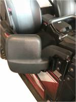 UTV Parts & Accessories - Extreme Metal Products, LLC - Yamaha Wolverine X2/X4 Folding Side Mirrors
