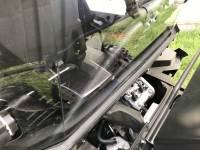 Extreme Metal Products, LLC - Yamaha Wolverine X2 Hardcoated Polycarbonate Cab Back/Dust Stopper - Image 2