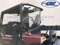 Extreme Metal Products, LLC - Yamaha Wolverine X2 Hardcoated Polycarbonate Cab Back/Dust Stopper - Image 4
