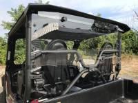 Extreme Metal Products, LLC - Yamaha Wolverine X2 Hardcoated Polycarbonate Cab Back/Dust Stopper - Image 5