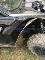 UTV Parts & Accessories - Can-Am - Extreme Metal Products, LLC - Can-Am Maverick X3 Wide Fenders/Fender Flares