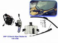UTV Parts & Accessories - Can-Am - Extreme Metal Products, LLC - Can-Am Maverick X3 Electric Wiper and Washer Kit (Lower Mount)