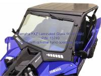 Extreme Metal Products, LLC - 2019 Yamaha YXZ Laminated Glass Windshield - Image 4