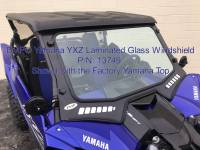 Extreme Metal Products, LLC - 2019 Yamaha YXZ Laminated Glass Windshield - Image 11