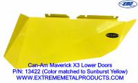 Can-Am Maverick X3 Lower Door Set