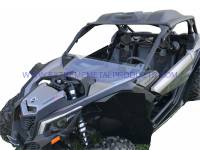 UTV Parts & Accessories - Can-Am - Extreme Metal Products, LLC - Can-Am Maverick X3 Poly Roof, Windshield and Cab back combo