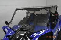 Extreme Metal Products, LLC - 2019-21 Yamaha YXZ Hard Coated Polycarbonate Windshield with Vent