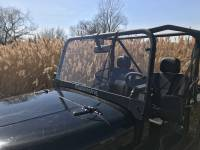 Extreme Metal Products, LLC - Mahindra Roxor Hard Coated Polycarbonate Windshield
