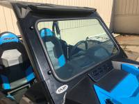 Polaris - RZR® XP1000 (XP1K) - Extreme Metal Products, LLC - RZR Turbo and XP1000 Laminated Safety Glass Windshield (wiper options available) NOTE: will not fit the Turbo-S