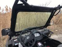 Extreme Metal Products, LLC - CF Moto Uforce 500 & 800 Laminated Glass Windshield with Wiper - Image 3