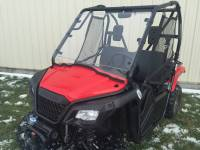 Extreme Metal Products, LLC - Honda Pioneer 500 Roof, Windshield, Cab Back Combo - Image 3