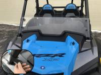 Extreme Metal Products, LLC - 2019 RZR Half Windshield/ Wind Deflector for the RZR Turbo and RZR XP1000