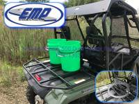 UTV Parts & Accessories - Honda - Extreme Metal Products, LLC - Honda Pioneer 500 Dual Bucket Rack (does not include buckets)
