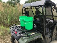 Extreme Metal Products, LLC - Honda Pioneer 500 Dual Bucket Rack (does not include buckets) - Image 4
