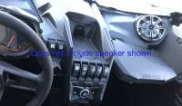 Extreme Metal Products, LLC - Can-Am X3 In-Dash Speaker Enclosures - Image 4
