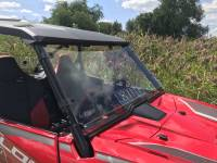 Extreme Metal Products, LLC - Honda Talon Windshield with vent (Hard Coated on Both Sides) - Image 2