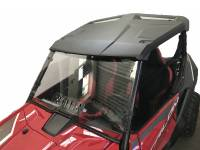 Extreme Metal Products, LLC - Honda Talon Windshield and Cab Back/Dust Stopper Combo Deal (Hard Coated on Both Sides) (Two Items in Combo) - Image 2