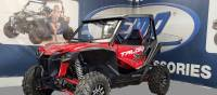 Extreme Metal Products, LLC - Honda Talon Laminated Safety Glass Windshield (DOT Rated)