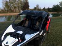 Extreme Metal Products, LLC - Can-Am Maverick X3 Poly Roof, Windshield and Cab back combo - Image 3
