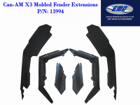 Extreme Metal Products, LLC - Can-Am Maverick X3 Wide Molded Fenders/Fender Flares - Image 2