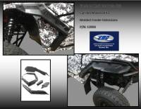 UTV Parts & Accessories - Can-Am - Extreme Metal Products, LLC - Can-Am Maverick X3 Wide Molded Fenders/Fender Flares