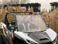 UTV Parts & Accessories - Extreme Metal Products, LLC - Teryx KRX 1000 Windshield with vent (Hard Coated on Both Sides)